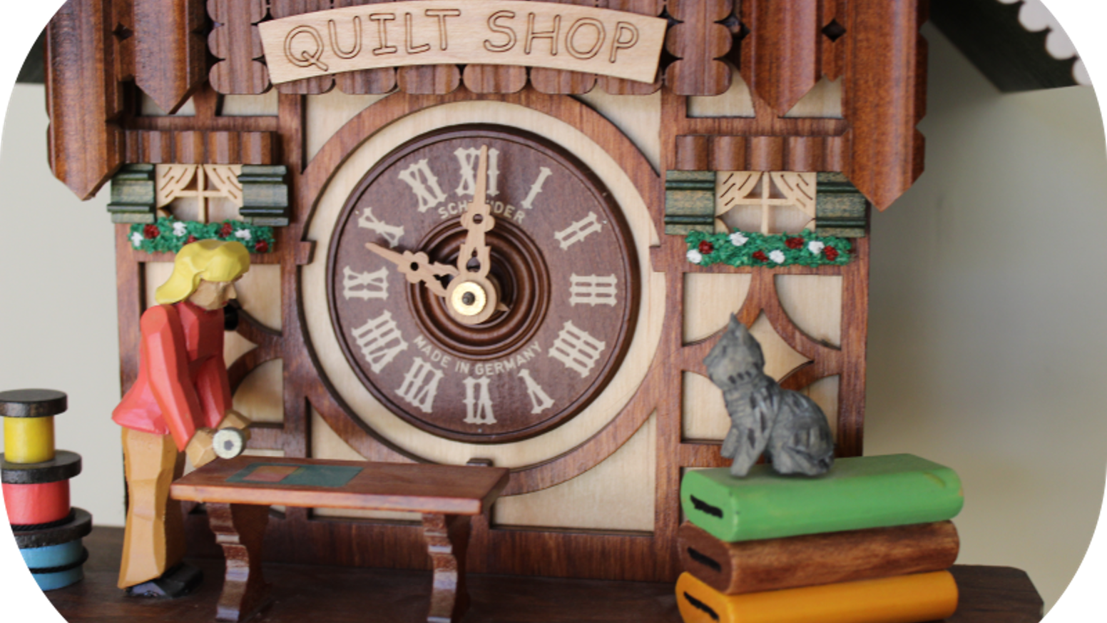 Quilt Cuckoo Clock