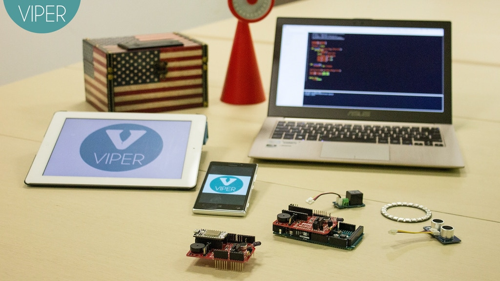 VIPER: the Python IoT Design suite for Arduino, UDOO & Spark project video thumbnail