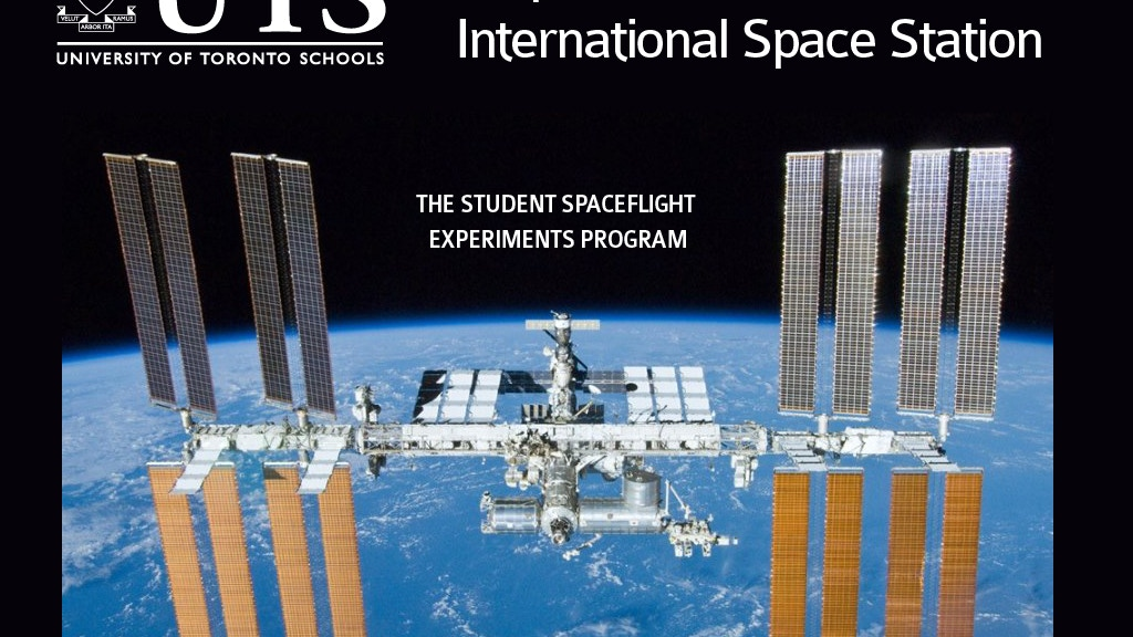 Help UTS Students reach the International Space Station! project video thumbnail