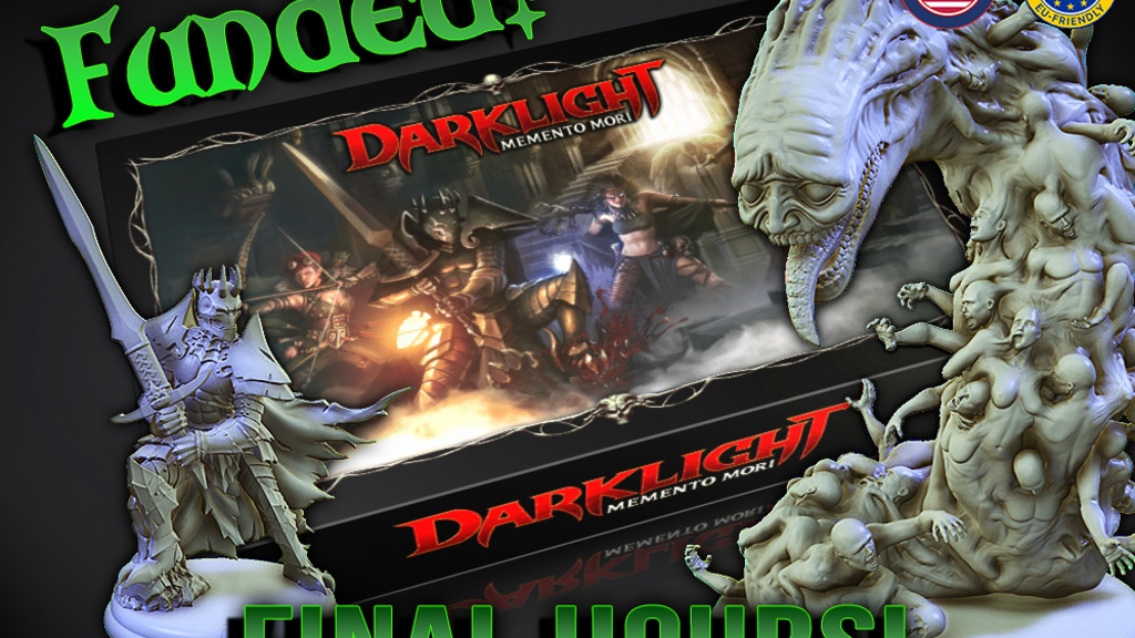 Darklight: Memento Mori - Miniatures Dungeon Crawler project video thumbnail