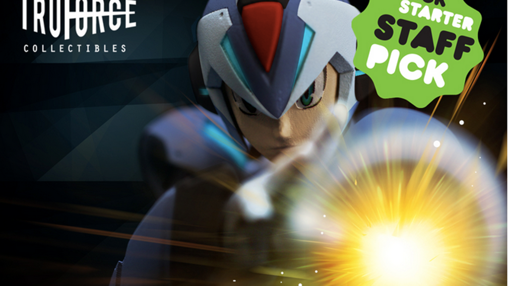 TruForce Collectibles: Mega Man X Action Figure project video thumbnail
