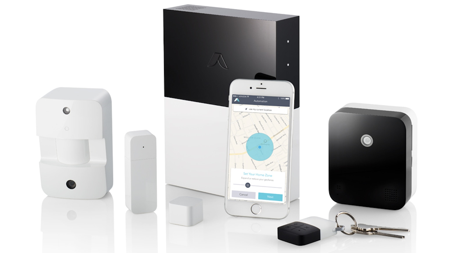 abode is a home security and automation company that offers a self-installed, professional-grade solution with no contracts.