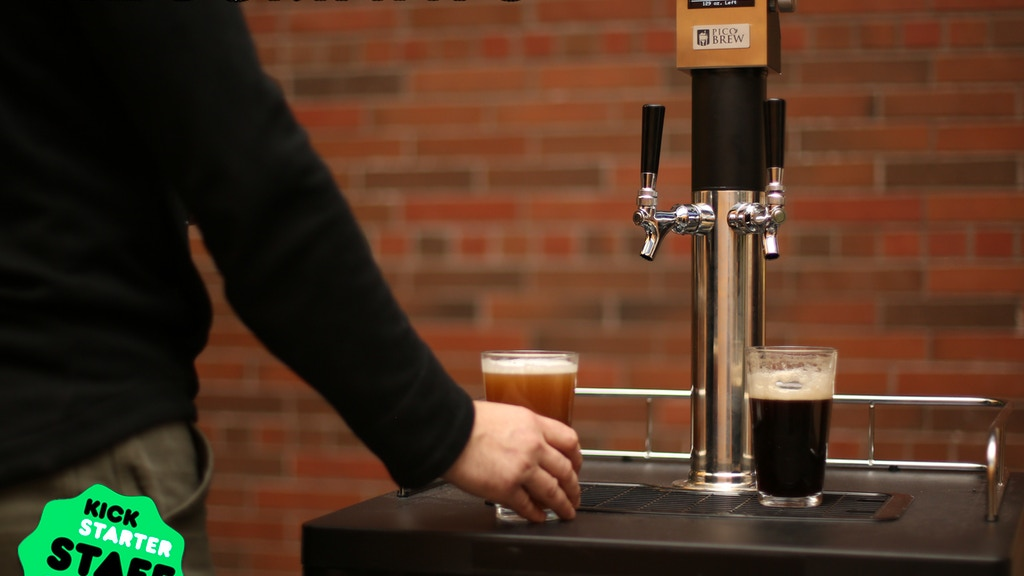 KEGSMARTS:  Smart Craft Brewpub Kegerator project video thumbnail