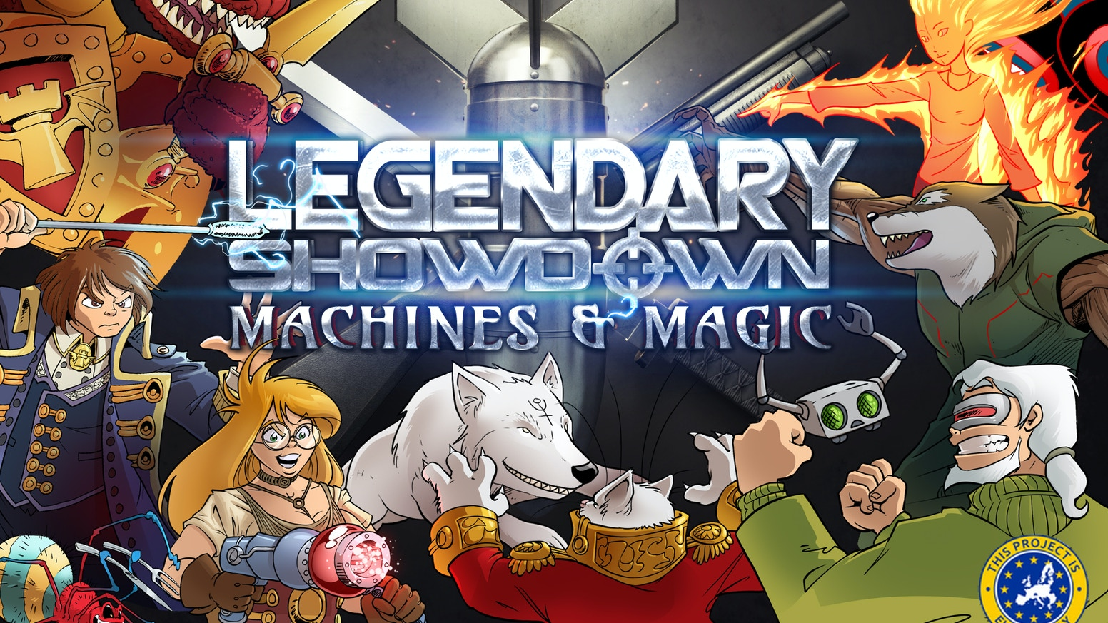 Legendary Showdown: Machines and Magic combines the worlds of Girl Genius & Gunnerkrigg Court to create comically epic battles!