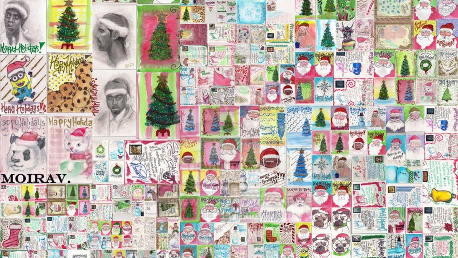 New Year Greeting Card Project By Moira Kickstarter