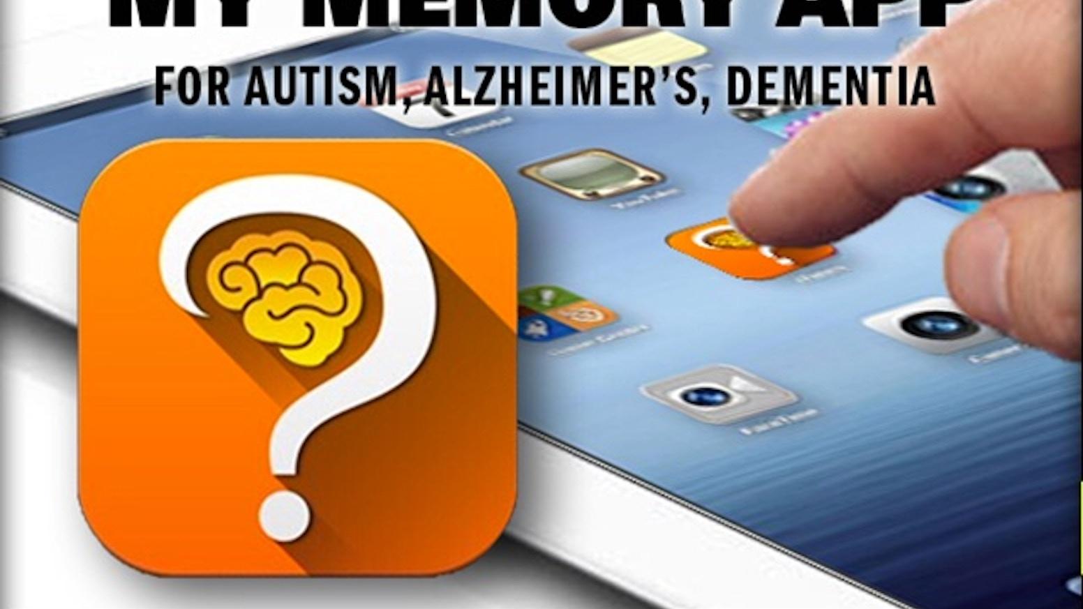 Ipad App For Autism Alzheimers Developmental Delay By Widtot