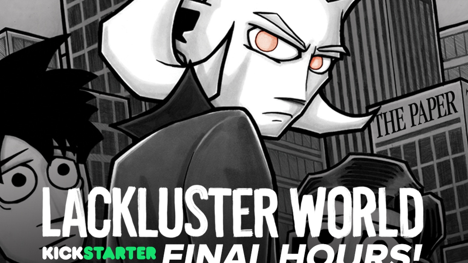 Lackluster world hardcover graphic novel by eric adams updates kickstarter