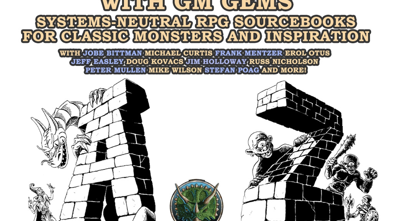 the monster alphabet with gm gems by goodman games kickstarter