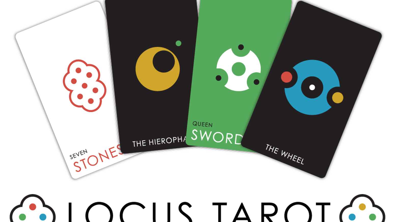 Expand your creativity. Enhance your intuition. Discover more about yourself and your world with this crisp, minimalist tarot deck!