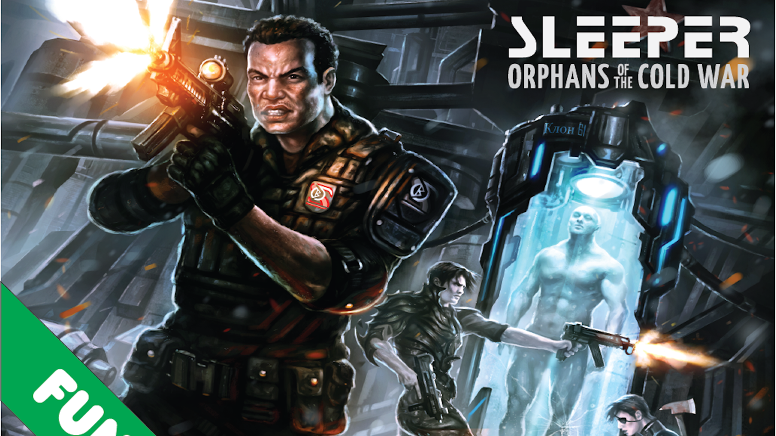 Sleeper RPG: A conspiracy horror tabletop roleplaying game by Tony