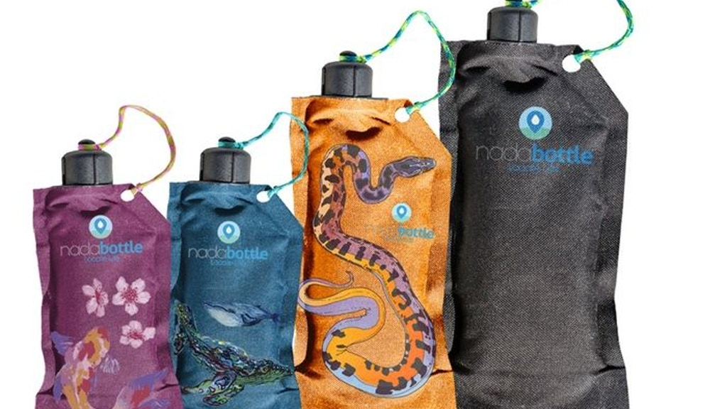 Nada Bottle: Collapsible Water Bottle = Clean Water project video thumbnail