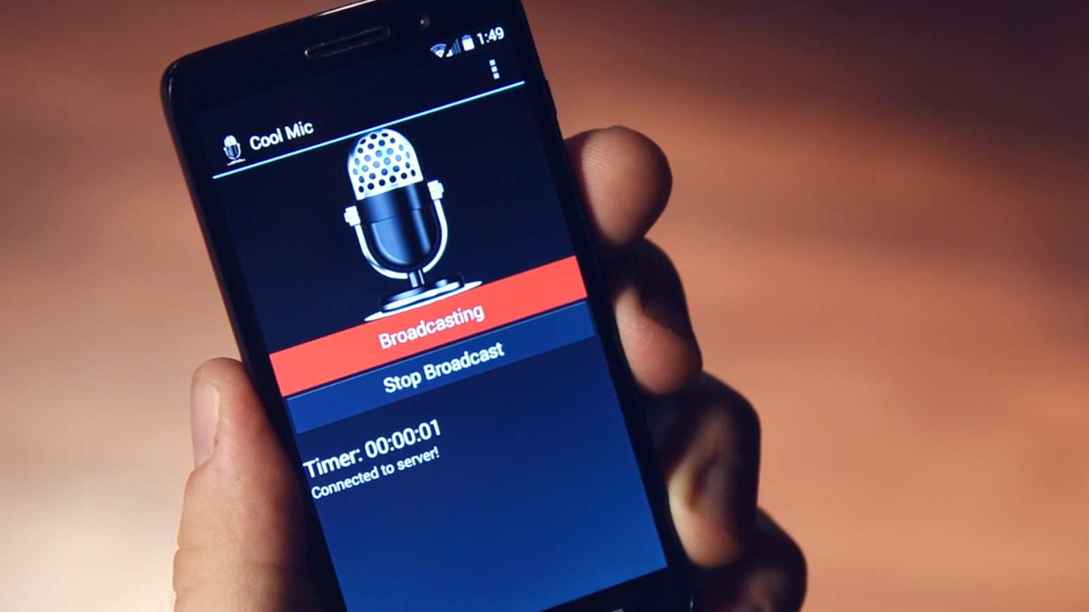 Cool Mic: Open Source Audio Livestreaming App - Android by Jordan