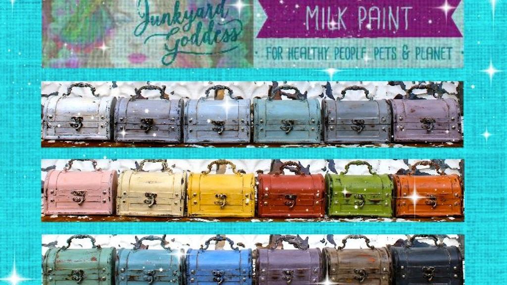 Project image for Junkyard Goddess Milk Paint | No Toxins • No VOCs • NO WAY!