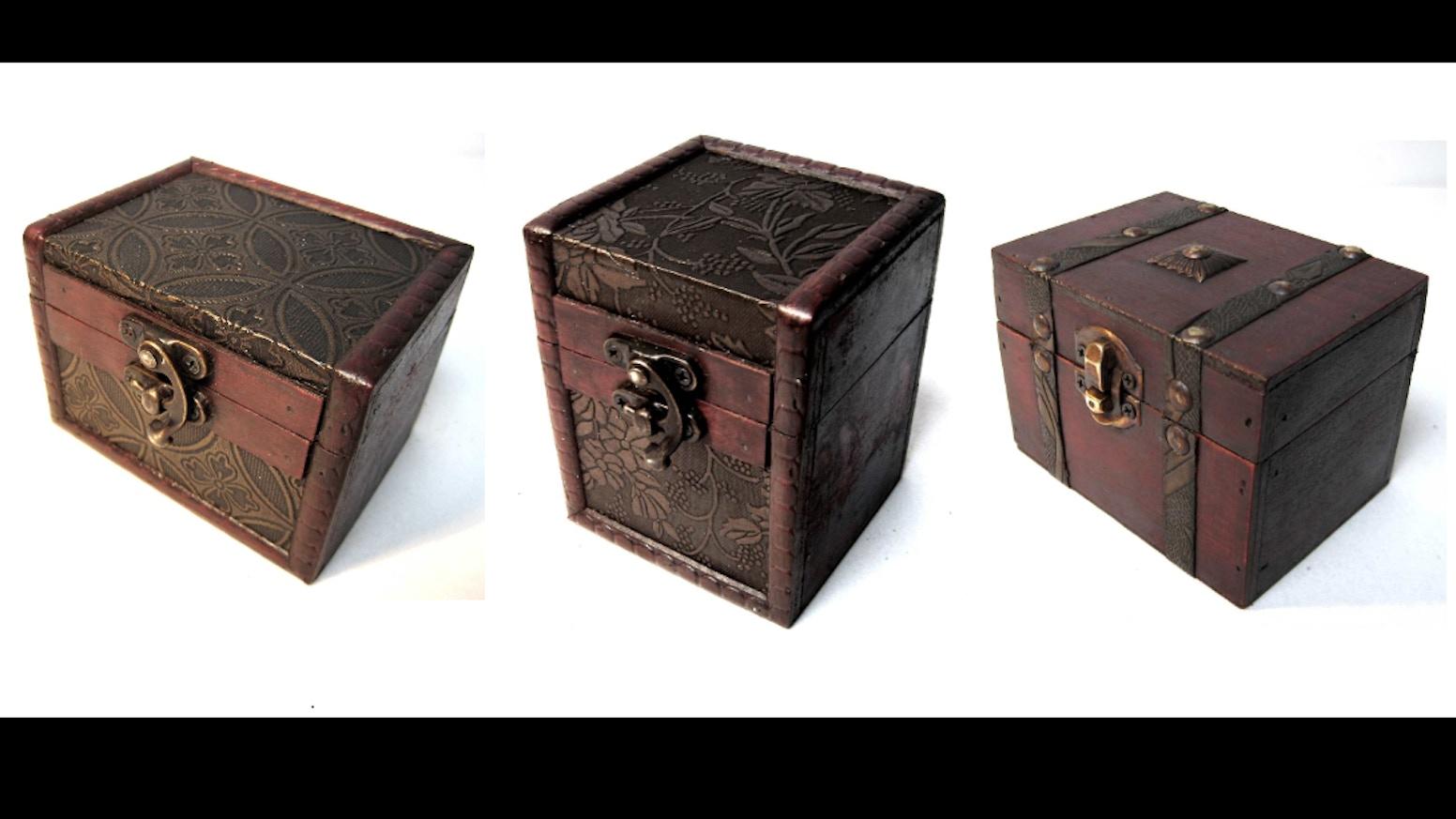 Wooden Deck Box For Mtg Magic Pokemon Yugioh Tcg Card Games By Sam