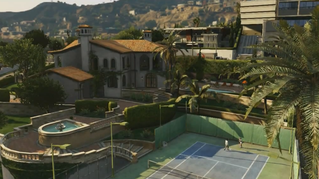 Project image for Michael's House from GTA5 real life build.