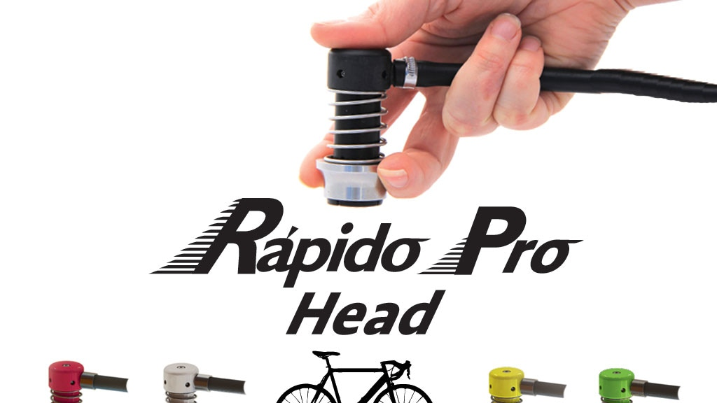 The Rápido Pro Pump Head For Bicycles project video thumbnail