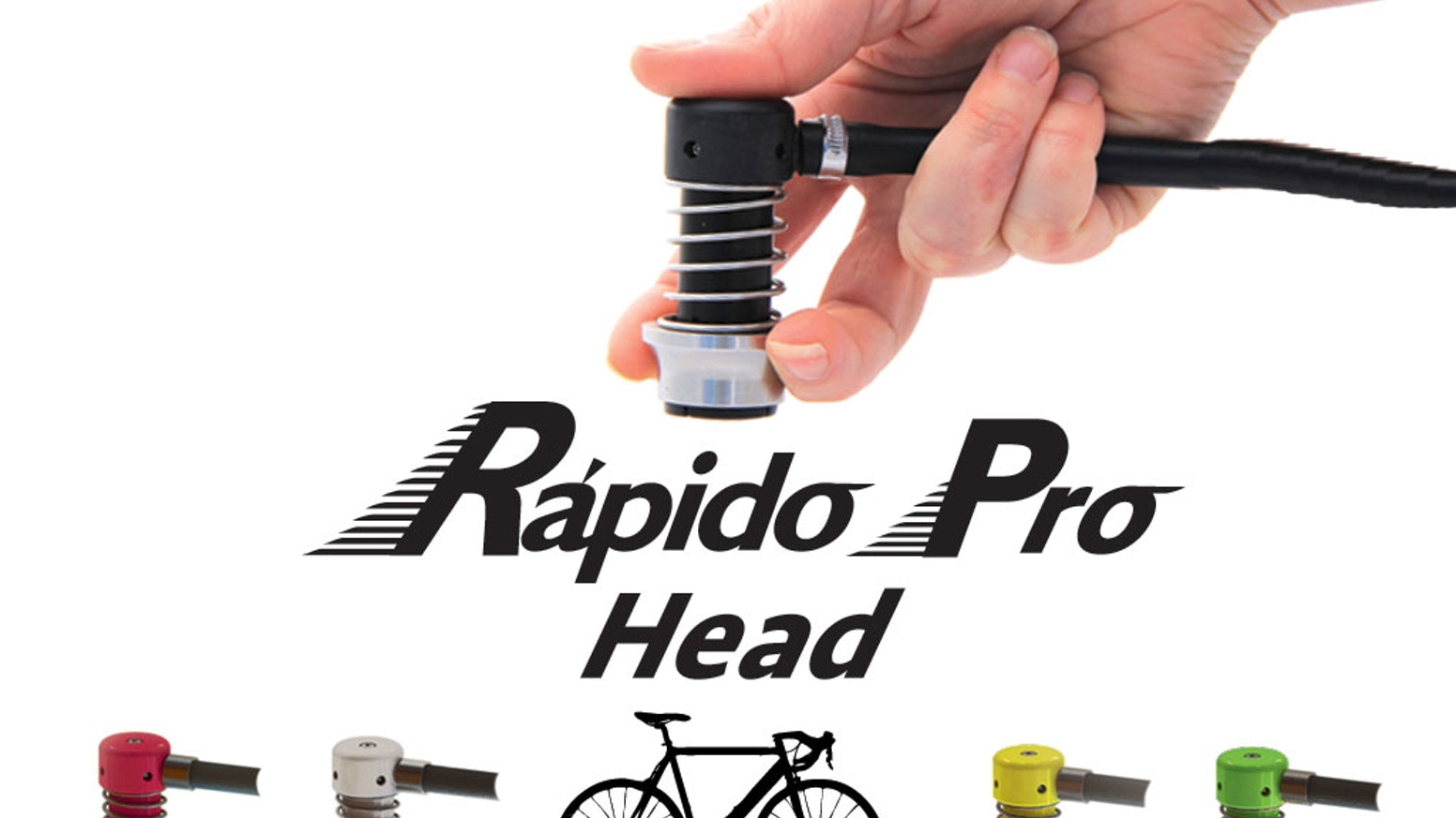 First super easy bicycle pump head that seamlessly engages with Schrader or Presta tire valves, making airing up your tires carefree.
