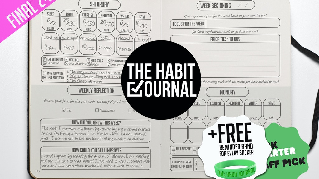 The Habit Journal: track your habits and achieve your goals project video thumbnail