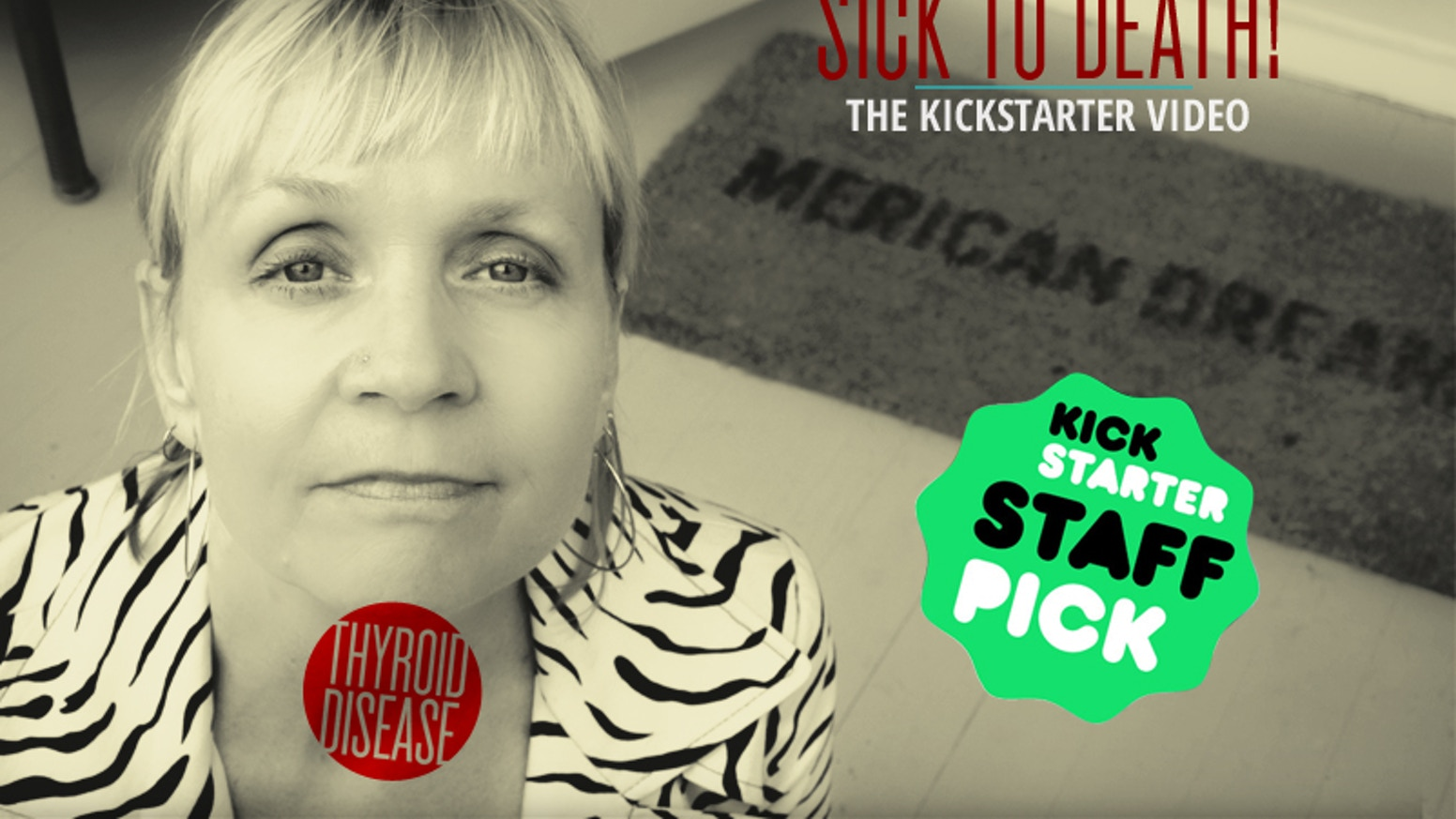 While grappling with thyroid disease, filmmaker Maggie Hadleigh-West uncovers a silent epidemic and the systemic issues at its roots. Go to www.sick2death.com to learn more and donate below.