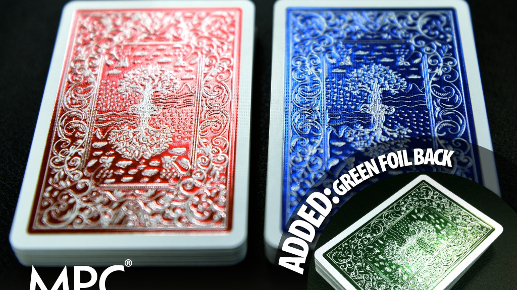 Impressions Metallic Foil Stamped Playing Cards project video thumbnail