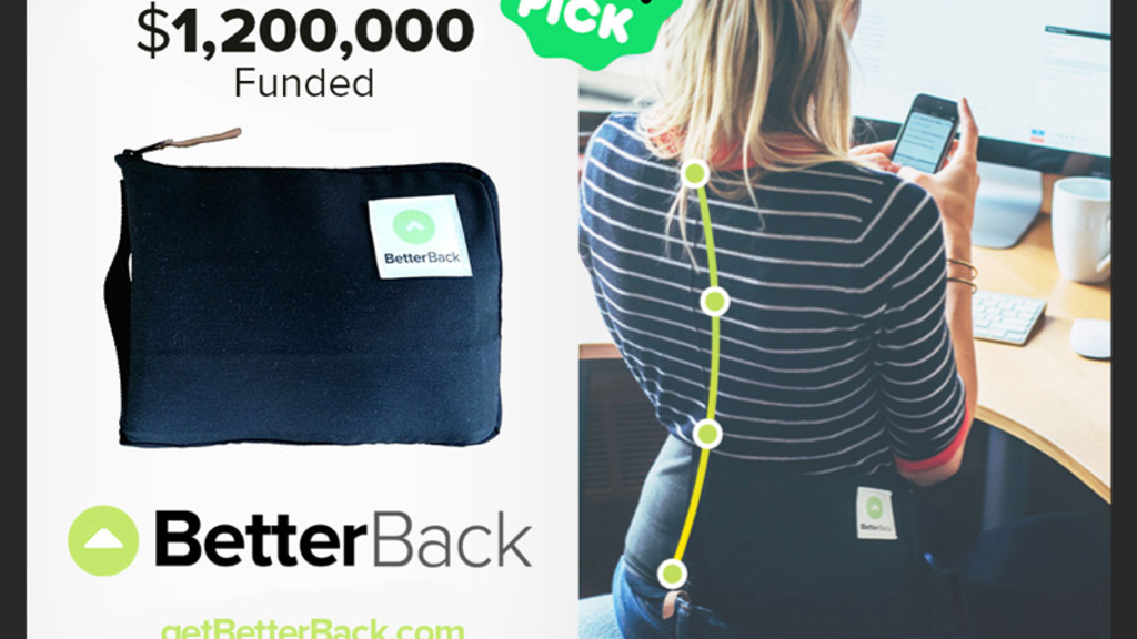 BetterBack - Perfect Posture Effortlessly project video thumbnail