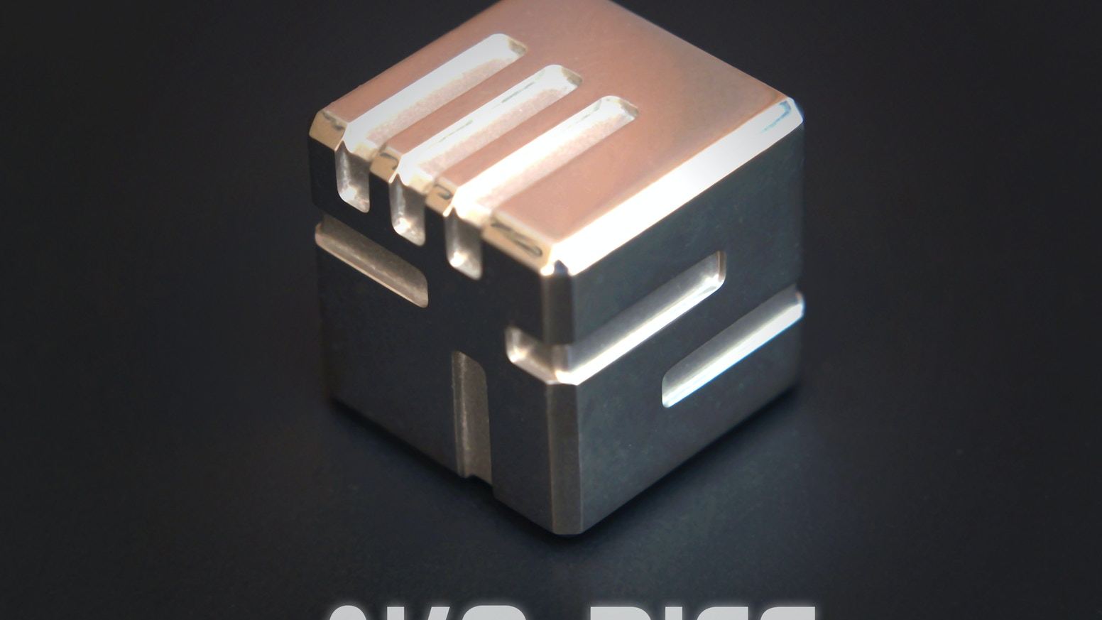 AKO (Another Kind of) Dice - The complete redesign custom metal dice.
