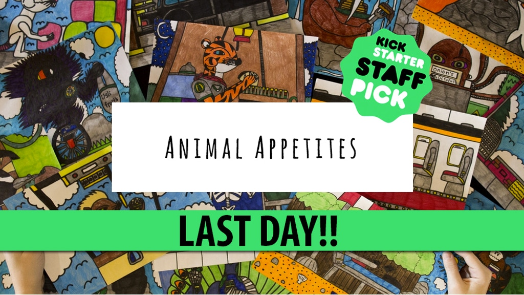 Animal Appetites - An ABC Kids Book Raising Autism Awareness project video thumbnail