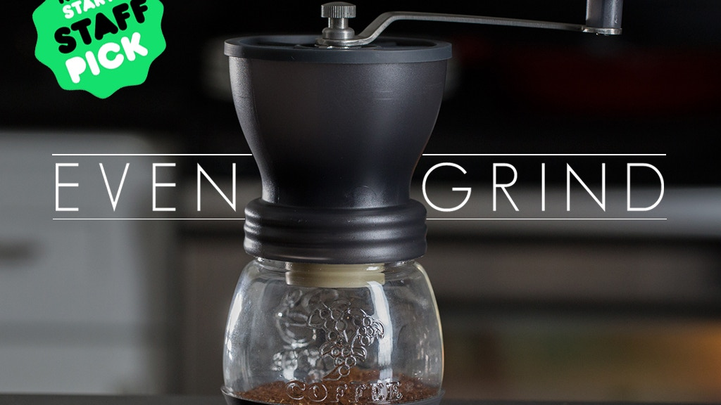 EvenGrind Coffee Grinder: Fresh, Even Grinds = Better Coffee project video thumbnail