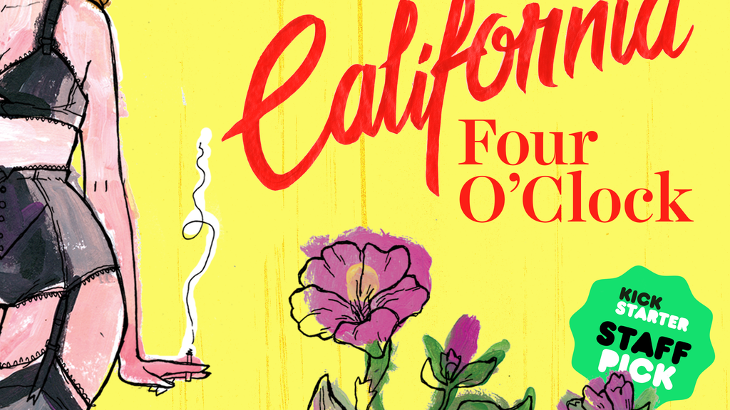 California Four O'Clock: A novel about the lore of pin-ups project video thumbnail