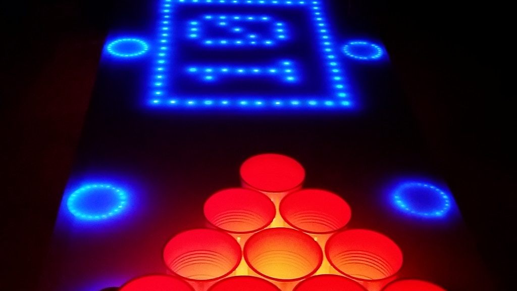 Interactive LED Beer Pong Table Kit (BPT X5) project video thumbnail