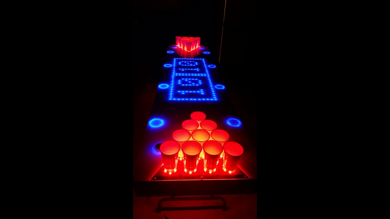Led night light kickstarter - Introducing The Most Sophisticated Beer Pong Table Kit Ever Completely Open Source And Fully