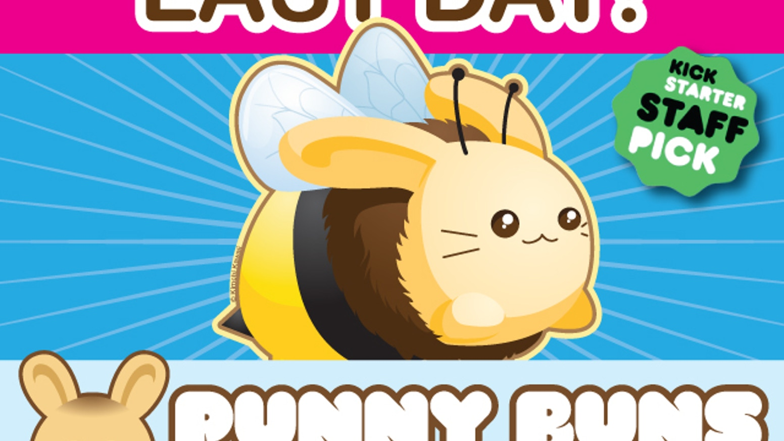 Punny Buns are adorable plush bunny bread and pastry puns created by Kimchi Kawaii.