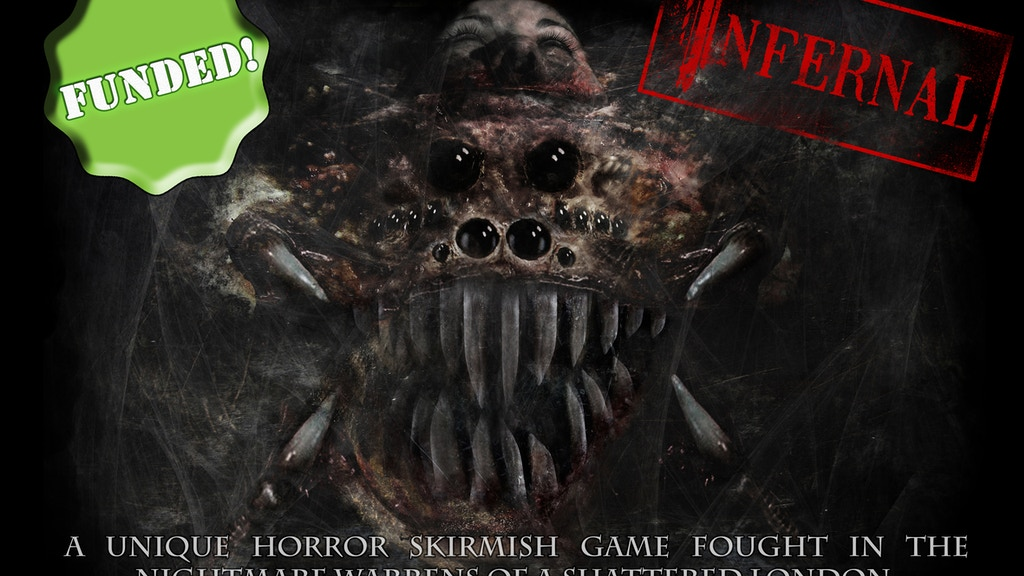 Infernal - Horror Miniature Skirmish Wargame project video thumbnail