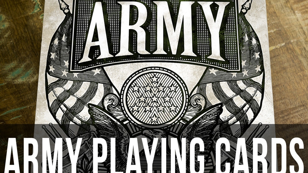 US ARMY Playing Cards by Jackson Robinson project video thumbnail