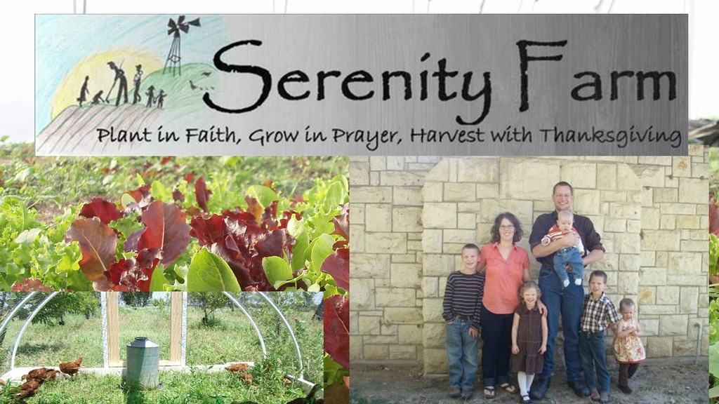Help bring Serenity Farm organic food to local dinner tables project video thumbnail