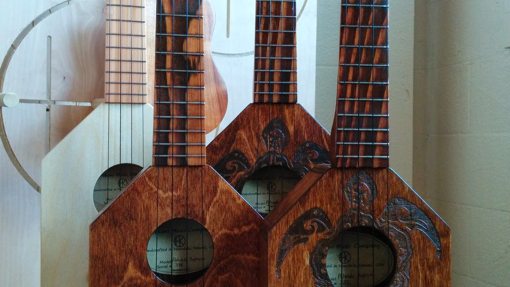 Pahulele - Unique Backpacker Travel Ukulele - Made in Hawaii project video thumbnail