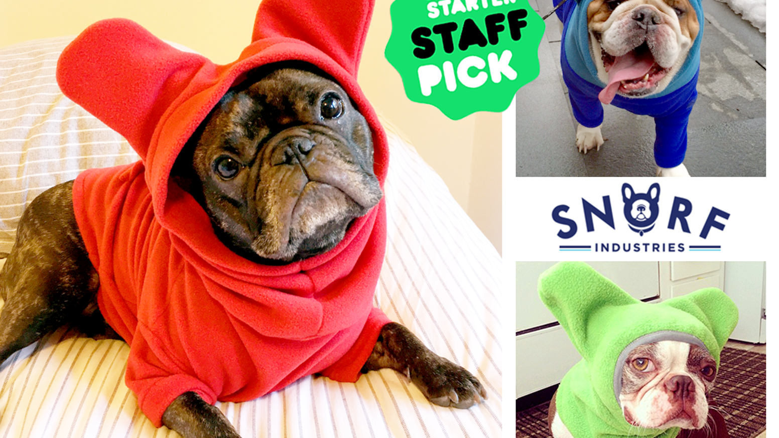 Premium apparel for French Bulldogs, English Bulldogs, Pugs, Boston Terriers, & their friends. Designed to be both fun and functional.