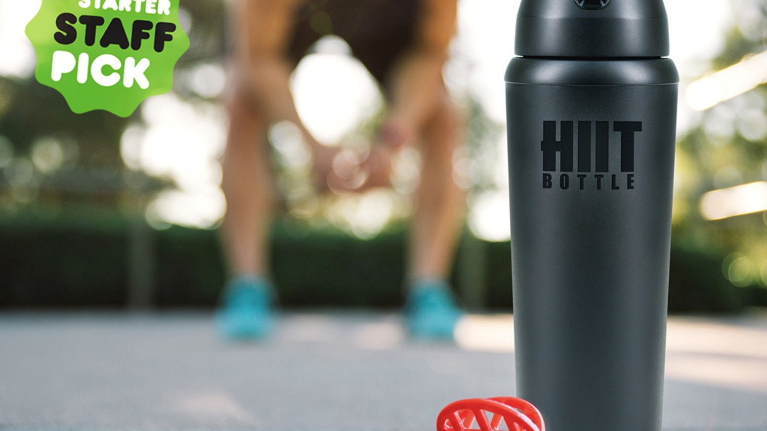 An all-purpose protein bottle engineered to be a permanent solution for conventional, unreliable, plastic protein shakers.