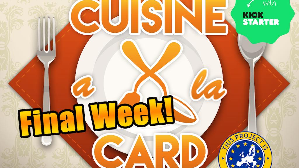 Cuisine a la Card project video thumbnail