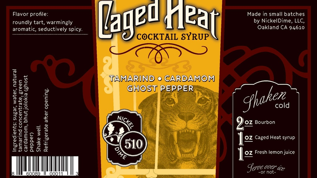 Caged Heat Cocktail Syrup project video thumbnail