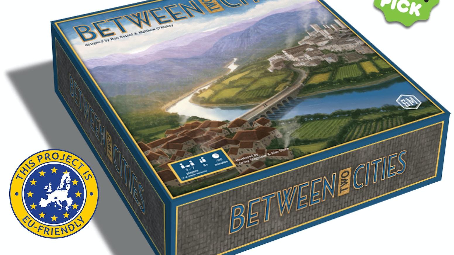 Between Two Cities By Jamey Stegmaier Kickstarter