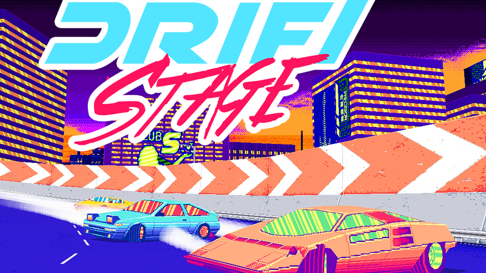Drift Stage is a modern take on the classic arcade racer.