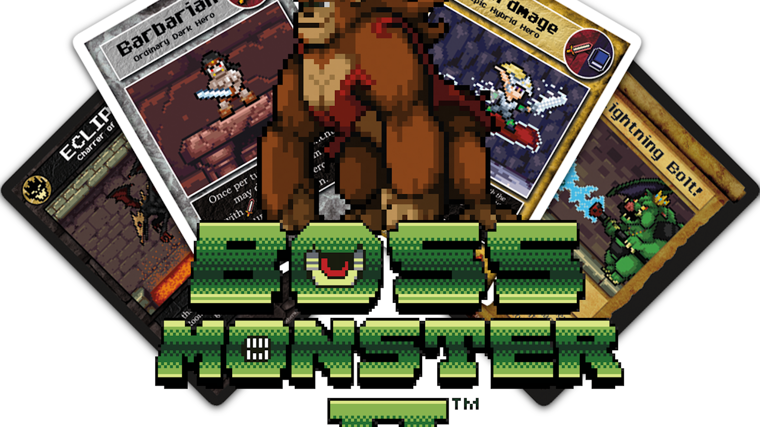 Become a Boss and crush puny heroes in this sequel to the hit card game! This 160-card set is playable on its own or as an expansion.