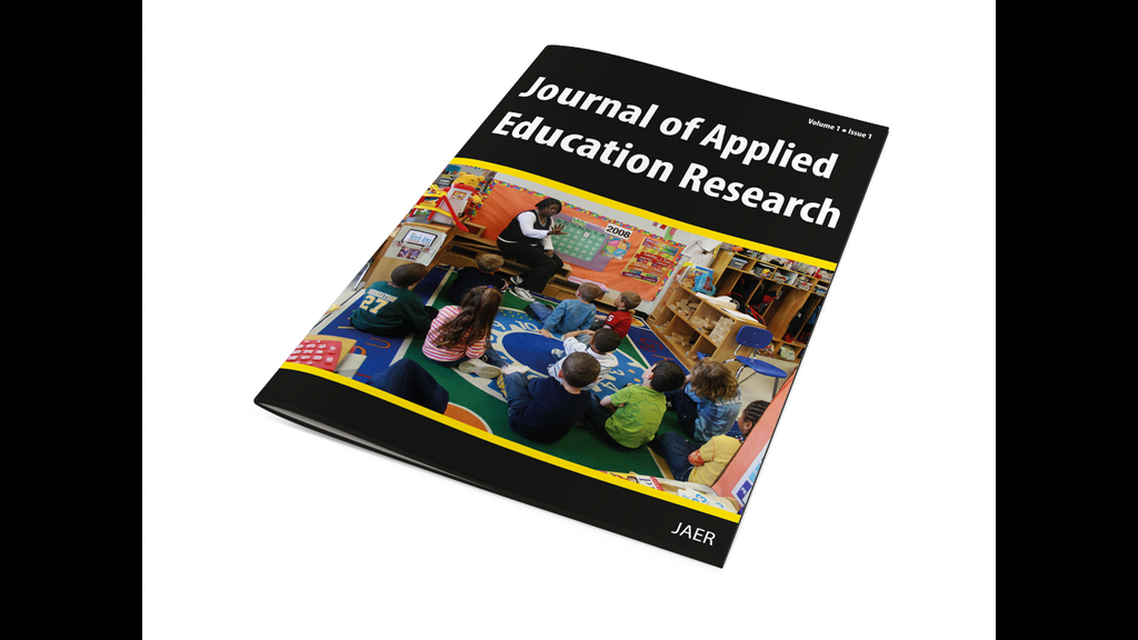 journal of applied education research by glen gilchrist kickstarter. Black Bedroom Furniture Sets. Home Design Ideas