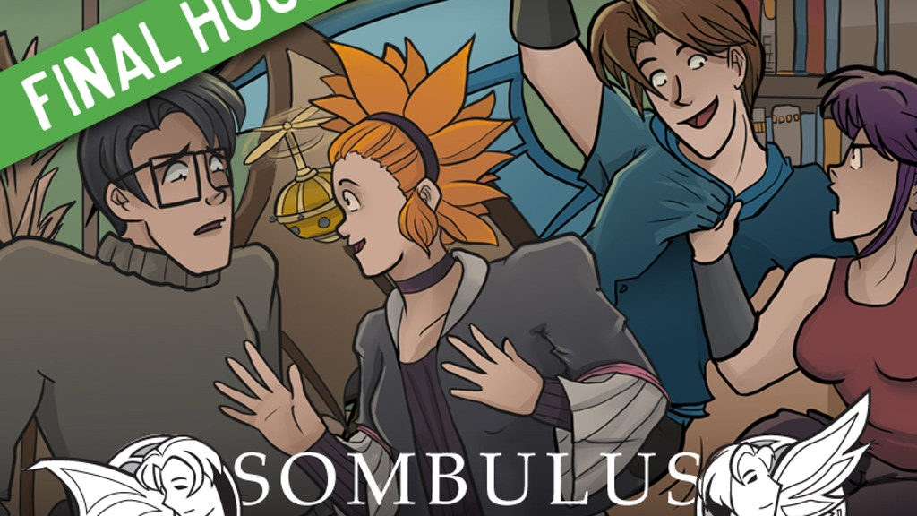 Sombulus - A Fantasy Adventure Comic (2015 print run) project video thumbnail