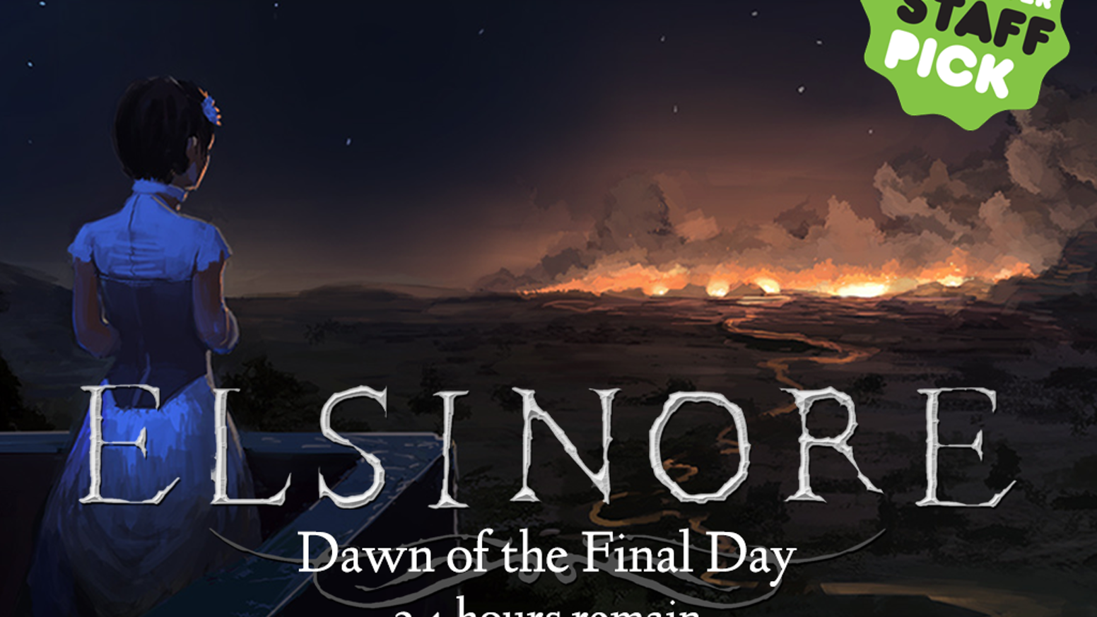 Elsinore is a time-looping narrative adventure game set in the world of Shakespeare's Hamlet.