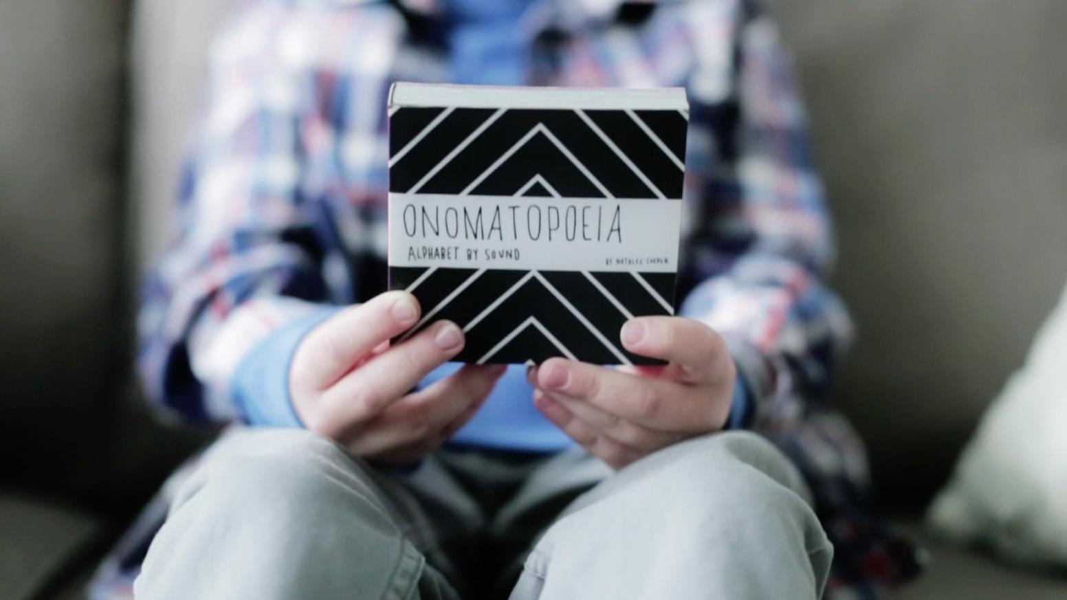 Onomatopoeia an Alphabet Book by Sound by Natalee — Kickstarter