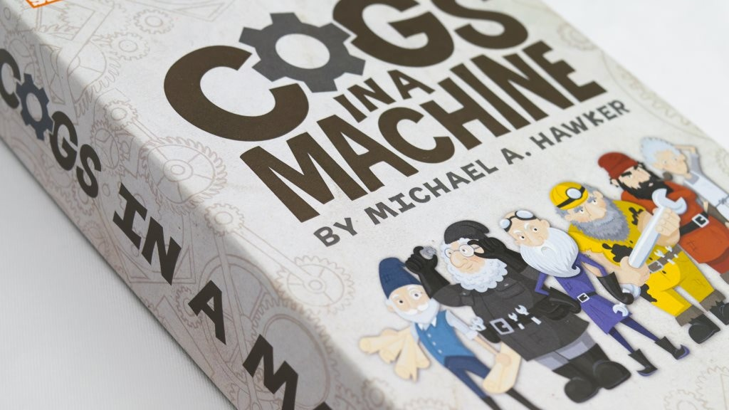 Cogs in a Machine: The Press-Your-Luck Dice Game w/ Gnomes! project video thumbnail