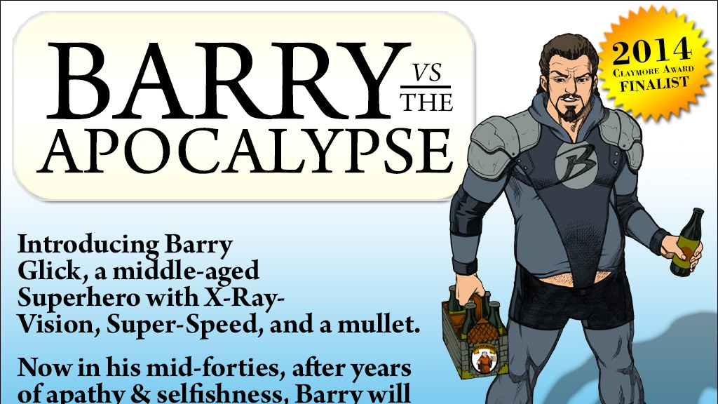 Barry vs The Apocalypse - (a novel of epic proportions) project video thumbnail