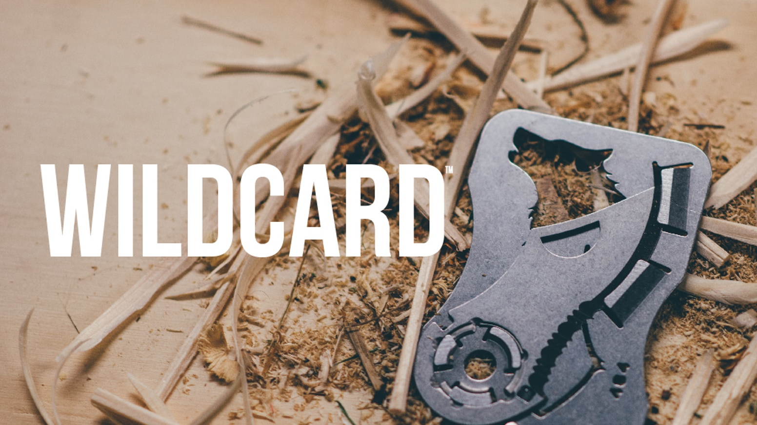 Inspired by outdoor performance, designed for every day carry. WildCard is the hyper-light knife multitool that fits in your wallet. Made in USA